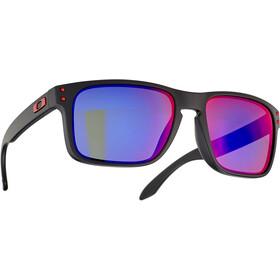 Oakley Holbrook Sunglasses matte black/positive red iridium